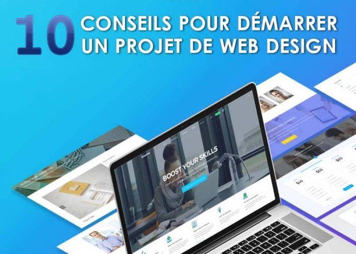 Web Design: 10 Conseils pour démarrer un projet de