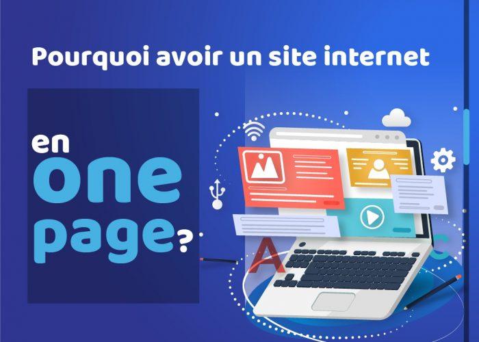 Pourquoi un site internet en one page?