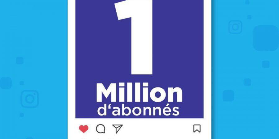 1 million d'abonnés sur Instagram ? Ils l'ont fait!