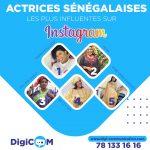 le classement des actrices des séries sénégalaises qui s'activent sur Instagram et qui y sont devenues très influentes