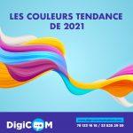 Les couleurs tendances en 2021